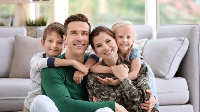 Child of Military Visitor Visa