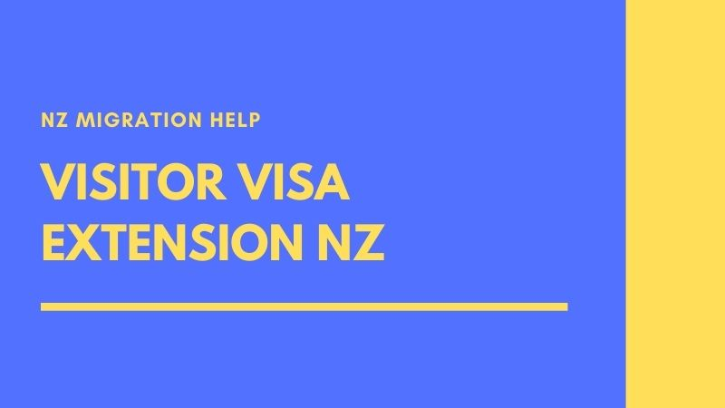 visitor visa extension nz